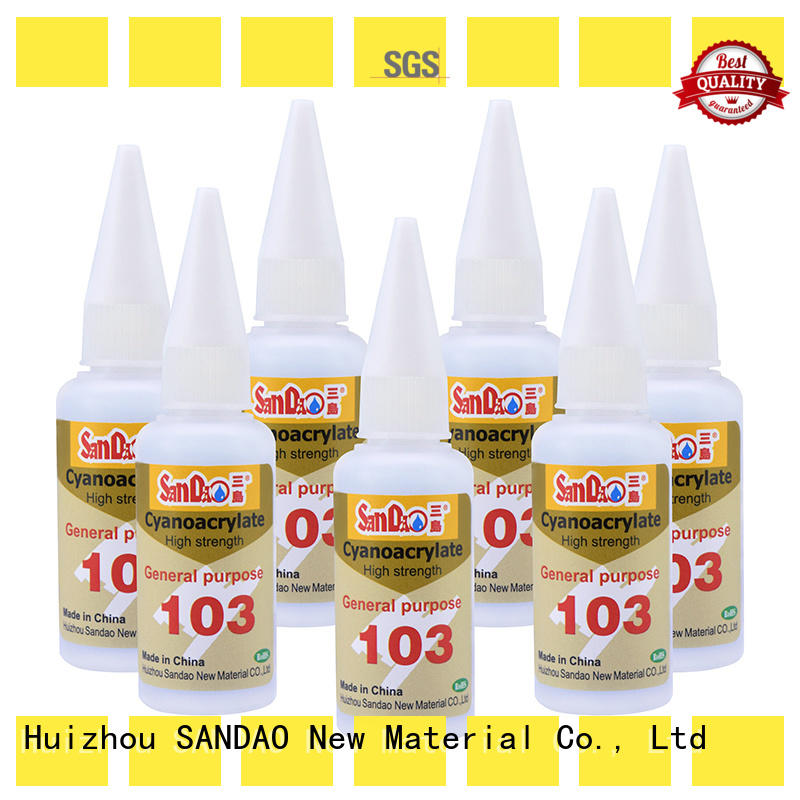 SANDAO power bonding adhesive widely-use for fixing products