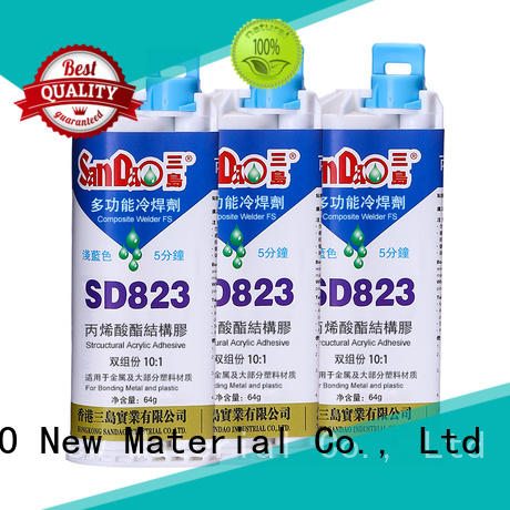 SANDAO reasonable Two-component epoxy structure bonding bulk production for Semiconductor refrigeration