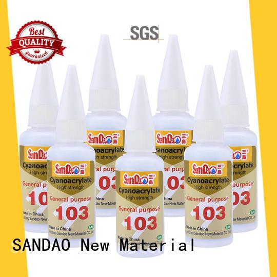 SANDAO Silicone bonding adhesive marketing for fixing products