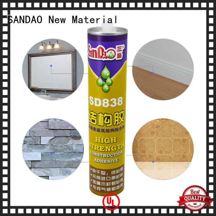 SANDAO allpurpose modified silane nail free adhesive vendor for fixing products