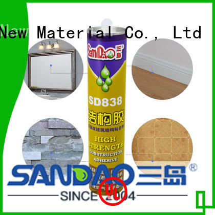SANDAO allpurpose modified silane nail free adhesive producer for fixing products