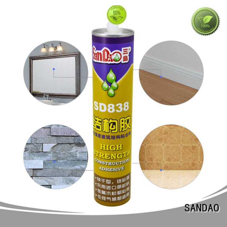 SANDAO reliable nail free adhesive supply for electrical products