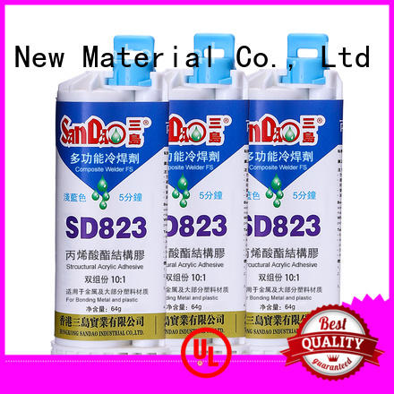 Two-component epoxy structure bonding potting factory price for Semiconductor refrigeration