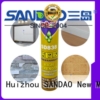 SANDAO reliable nail free adhesive for electronic products