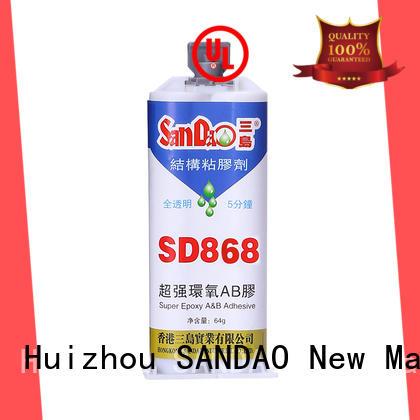 temperature adhesive Epoxy resin adhesive series strength SANDAO Brand company