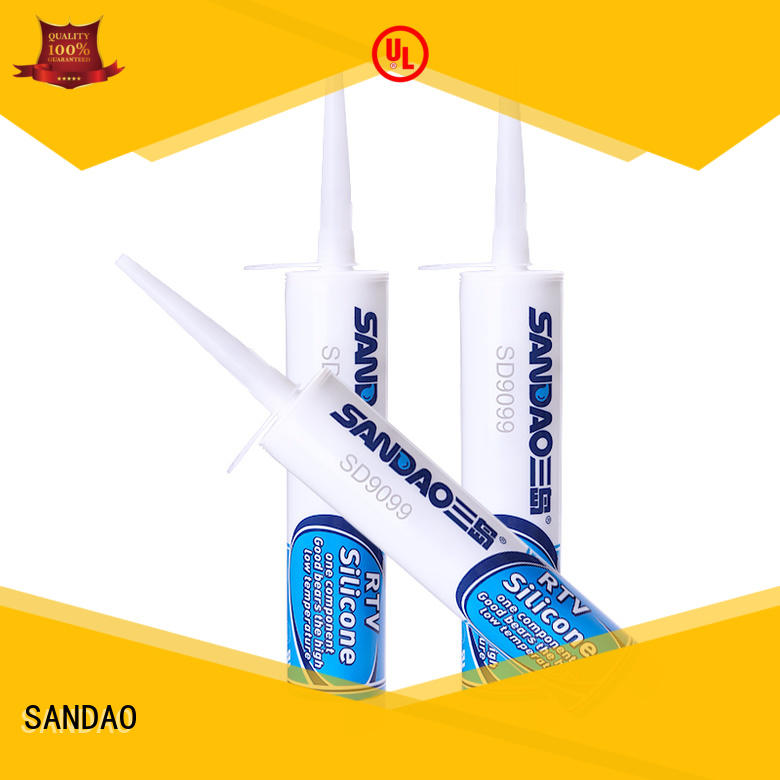 SANDAO environmental One-component RTV silicone rubber TDS certifications for substrate