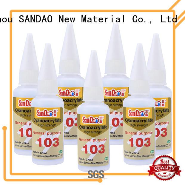 SANDAO bonding adhesive for-sale for fixing products