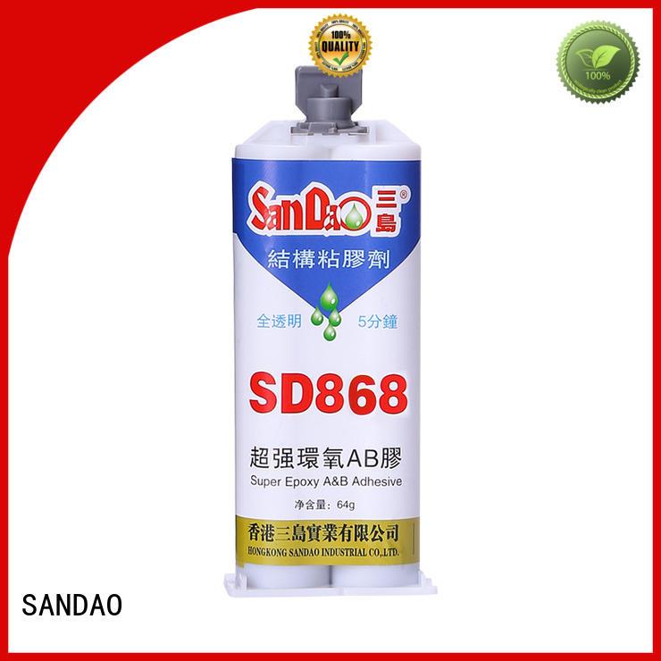 parts transparent Two-component epoxy structure bonding drying SANDAO