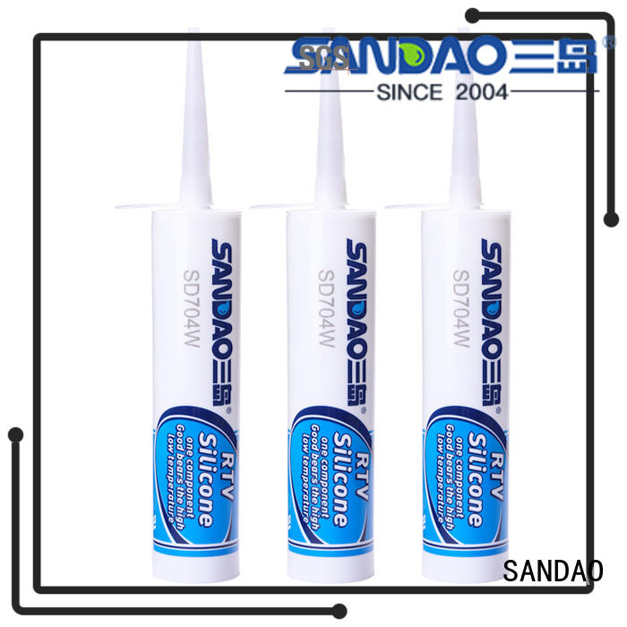 SANDAO thermal rtv silicone rubber widely-use for screws