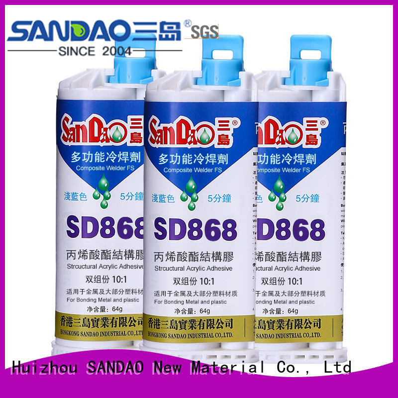 SANDAO 2 part epoxy adhesive factory price for oven