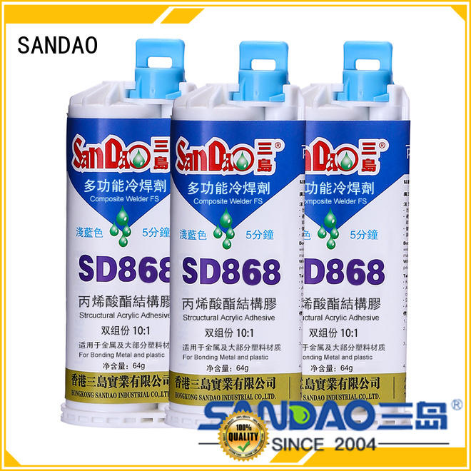 SANDAO excellent clear epoxy glue for-sale for electronic parts